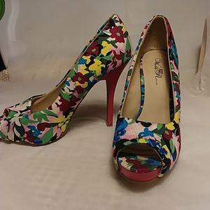 Wild Rose heels